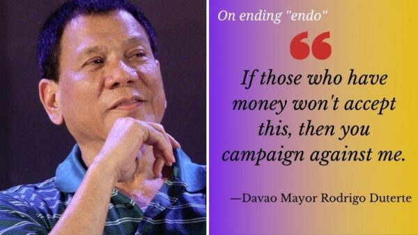 Dead Duterte's promise to end endo: What makes it unwarranted?