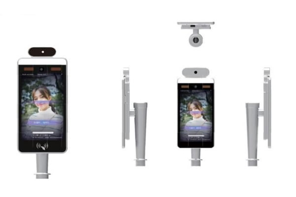 Temperature measurement and face recognition by Katomado Digital